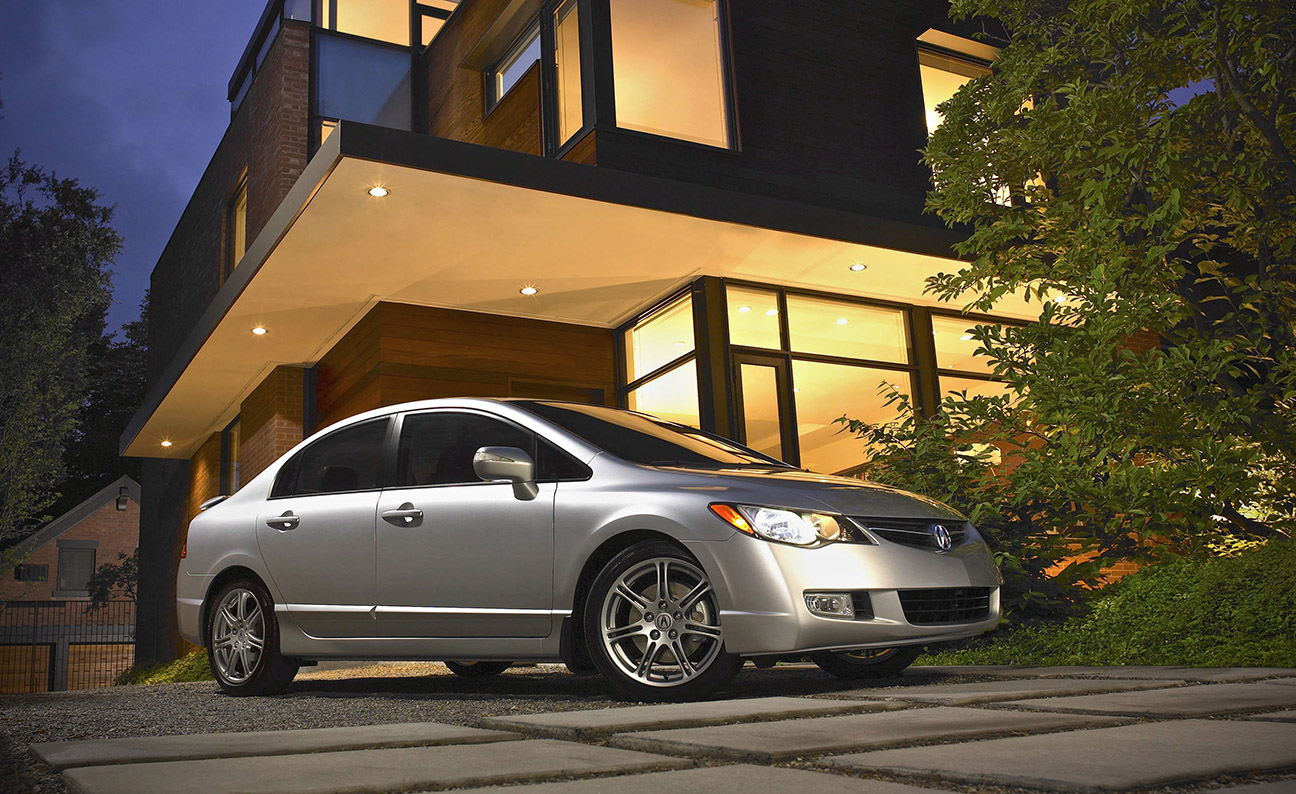 Acura CSX TypeS Modern House Location