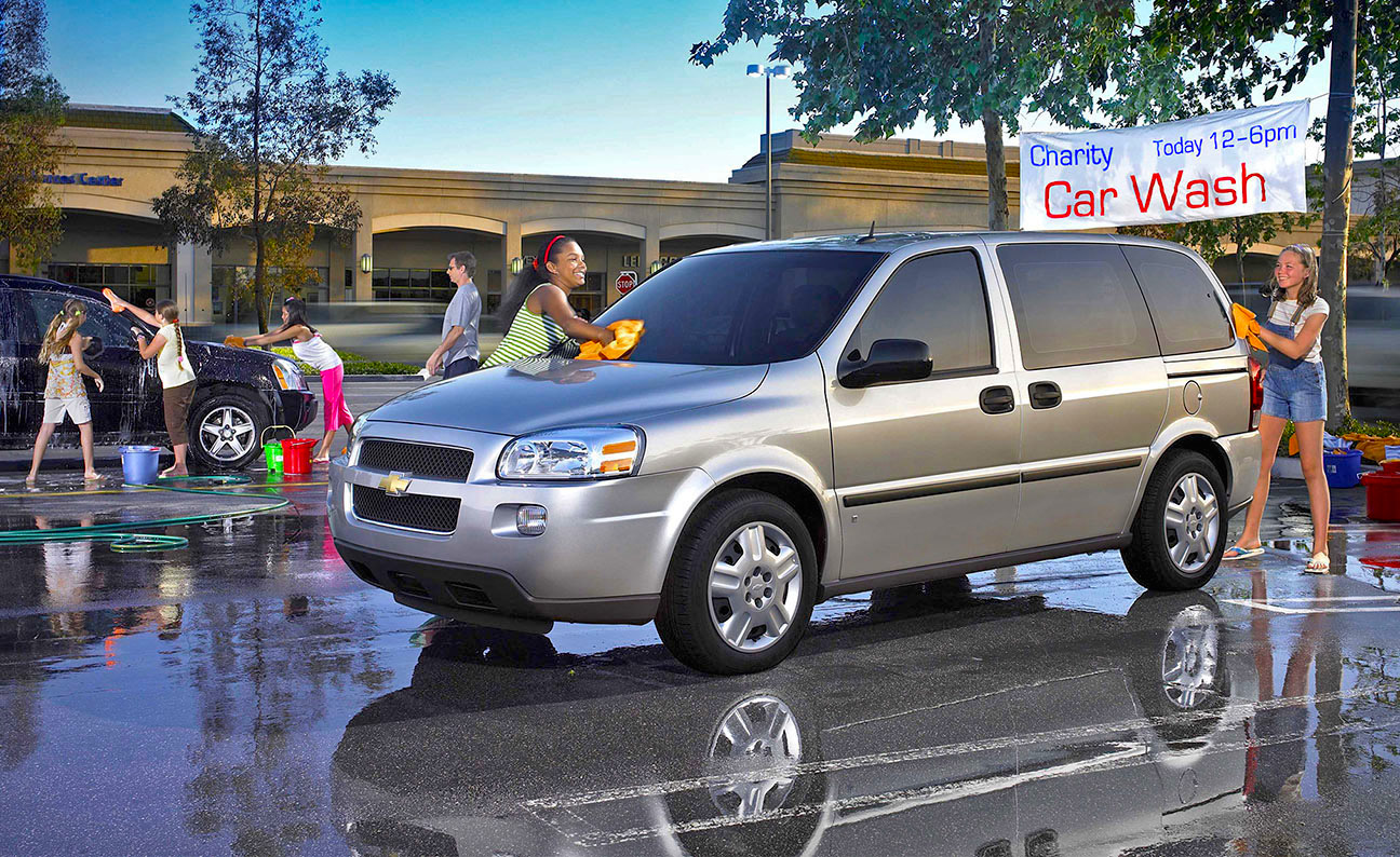 Chevrolet Uplander  Charity Car Wash