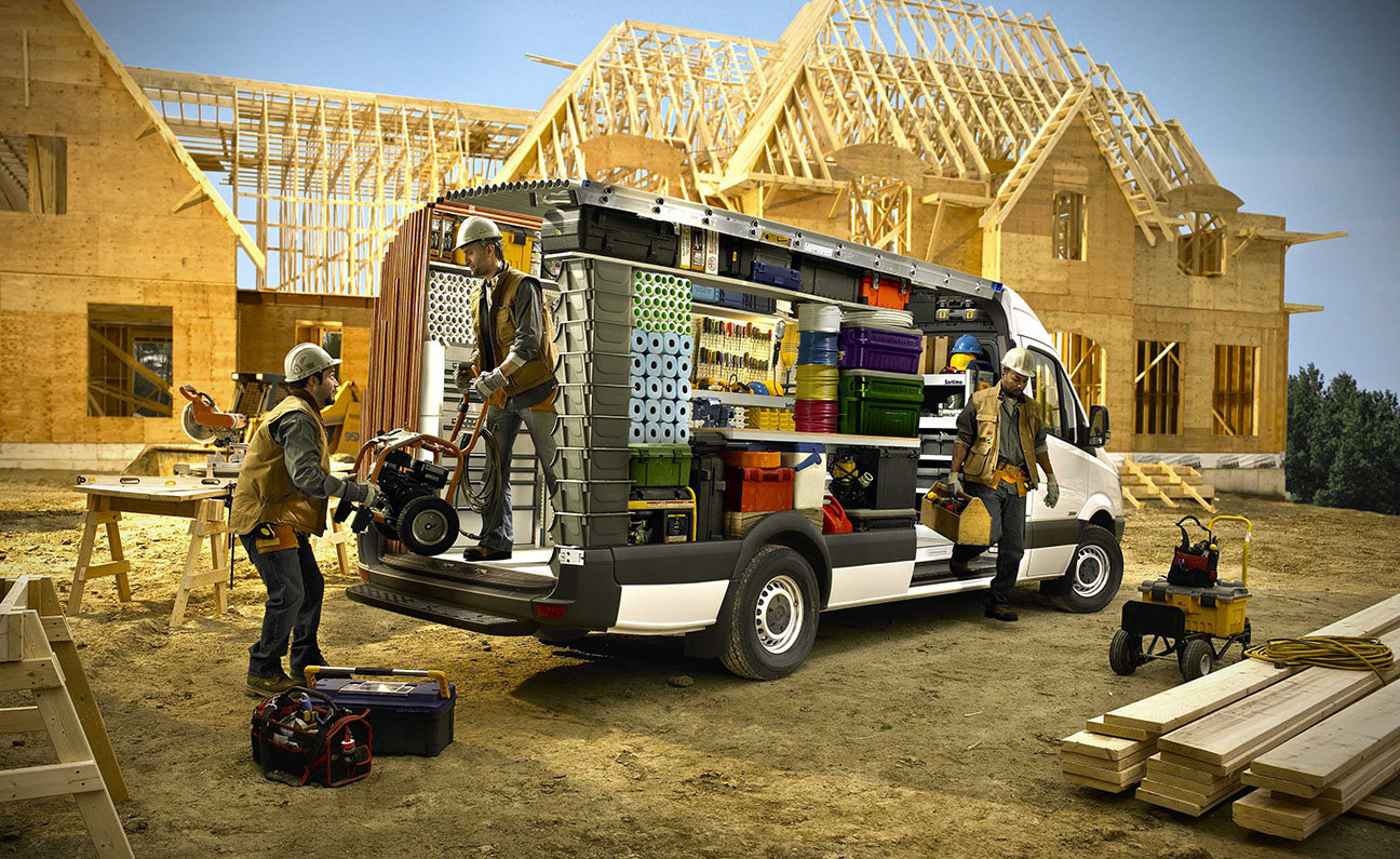 Mercedes Sprinter Home Construction Concept