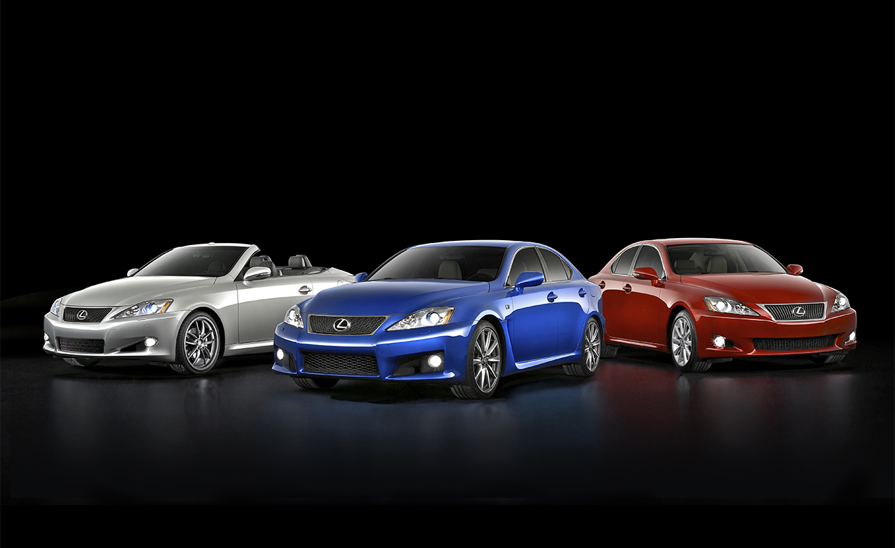 Lexus-IS Lineup