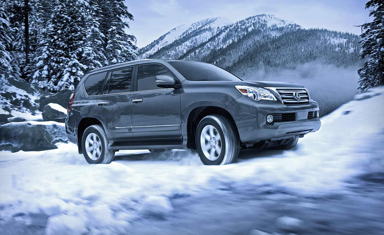 Lexus GX460 Mountain Off Road