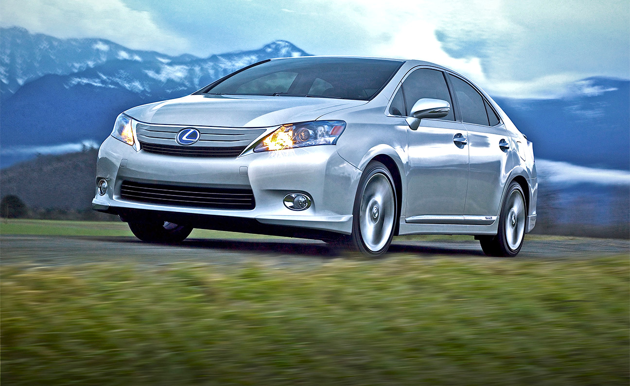 Lexus HS Hybrid Mountain Meadow FDS3-4