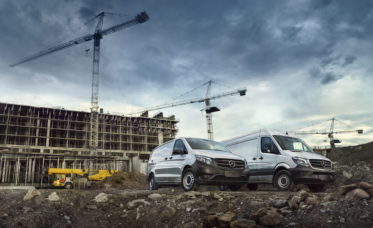Mercedes Metris Construction