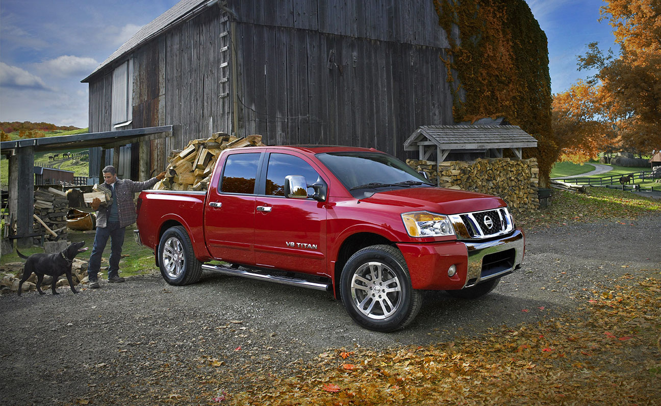Nissan Titan Truck F3-4PS Beauty Shot