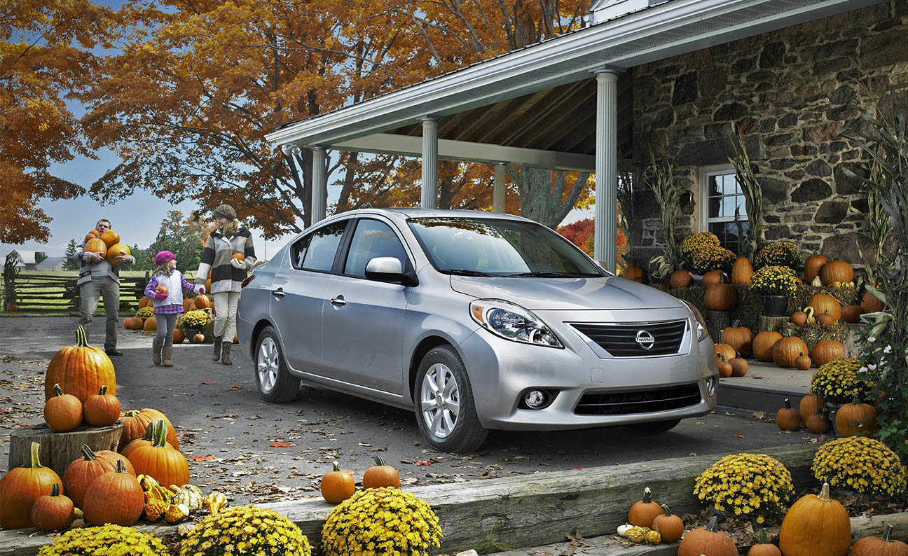 Nissan Versa F3-4PS Location Pumpkin Farm