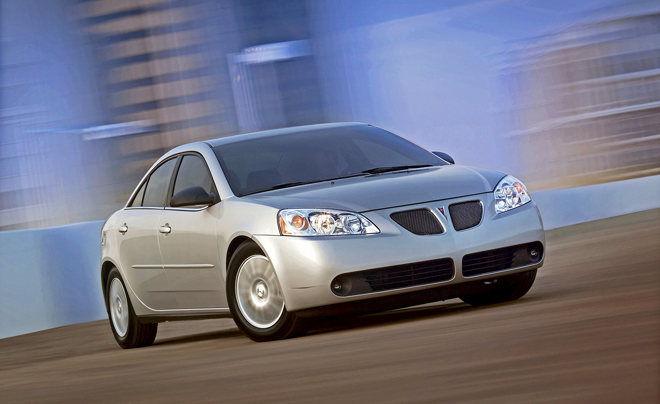 Pontiac G6 low front action