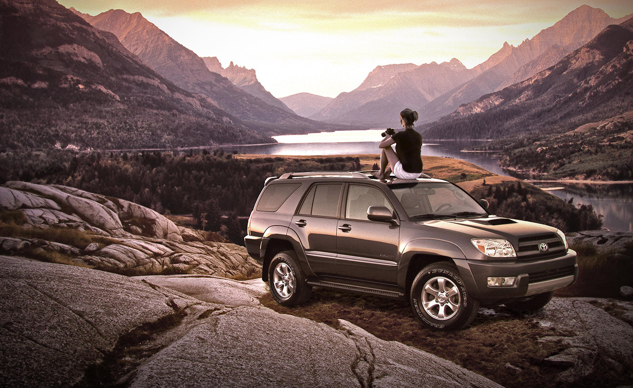 Toyota 4Runner Vista Location Shot