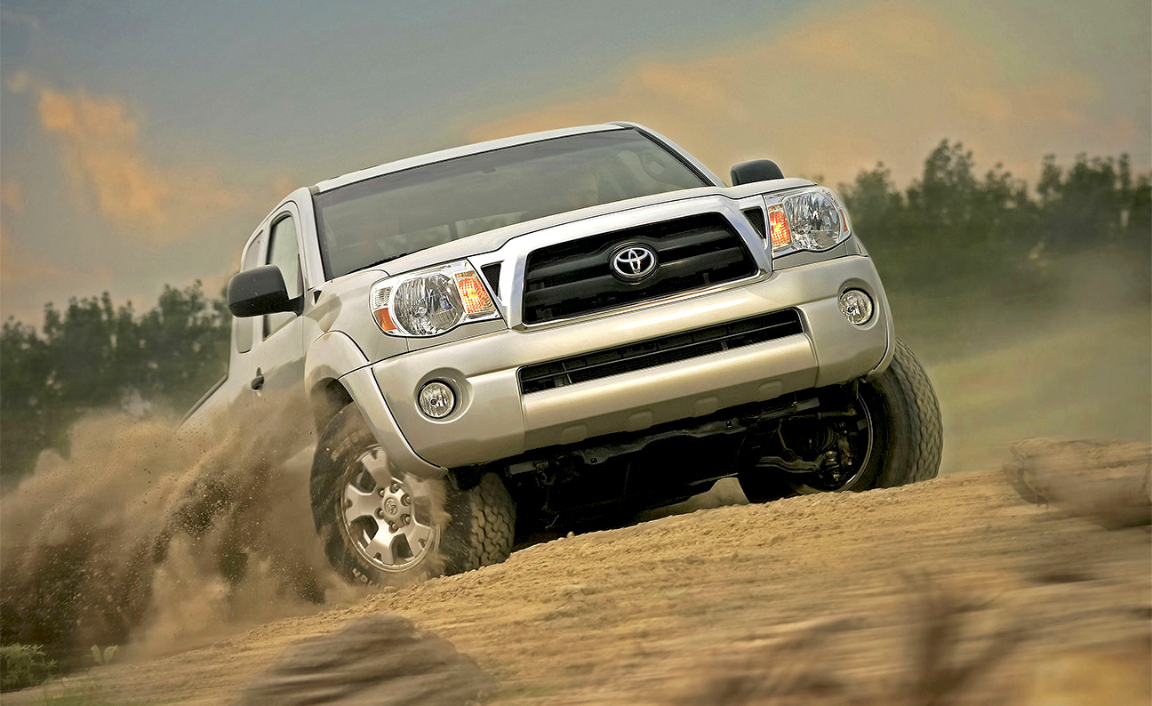 Toyota Tacoma Dust Action